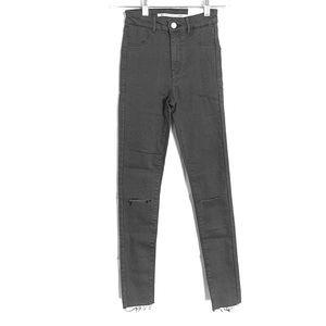 ZARA Trafaluc High Waist Ankle Jeans 00 NWT